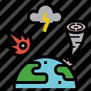 attack, damage, disaster, harm, ruin icon
