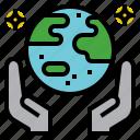 earth, globe, land, save, world icon