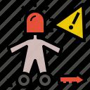 alert, danger, emergency, urgency, urgent, warning icon