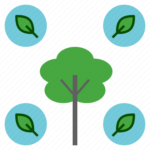 Creation, green, leaf, natural, nature, tree icon - Download on Iconfinder