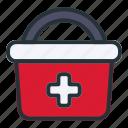 emergency, bucket, medical, health, hospital, healthcare