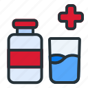 medical, water, hospital, health, healthcare, medicine