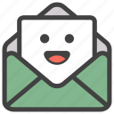 emoji, emotag, emoticon, emotion, envelope emoji icon