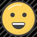 emoji, emotag, emoticon, emotion, smiley face icon
