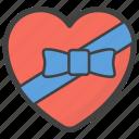 heart gift, heart present, love gift, love present, love symbol, valentine heart icon
