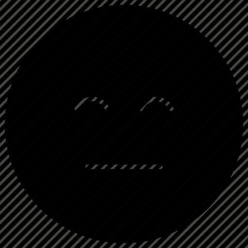 emoji, emotag, emoticon, emotion, emotionless emoji icon
