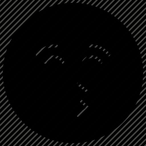 emoji, emotag, emoticon, emotion, kiss emoji icon