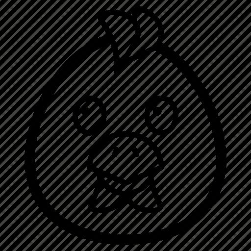 balloon emoji, emotag, emoticon, emotion, emotionless balloon emoji icon