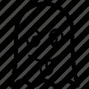 emoji, emotag, emoticon, emotion, tongue out ghost icon