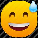 disbelief, emoji, emoticon, feeling, face, smile