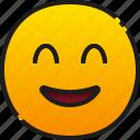 smile, emoji, emoticon, feeling, face, happy, cheerful
