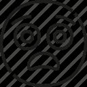 scared, emoji, face, emotion
