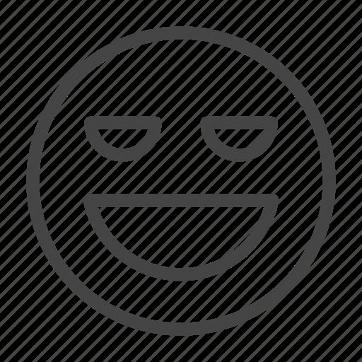 Emoji, emoticon, expression, face, feeling, happy, smile icon - Download on Iconfinder