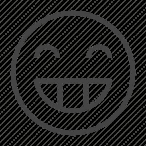 Emoji, emoticon, emotion, expression, face, happy, smile icon - Download on Iconfinder