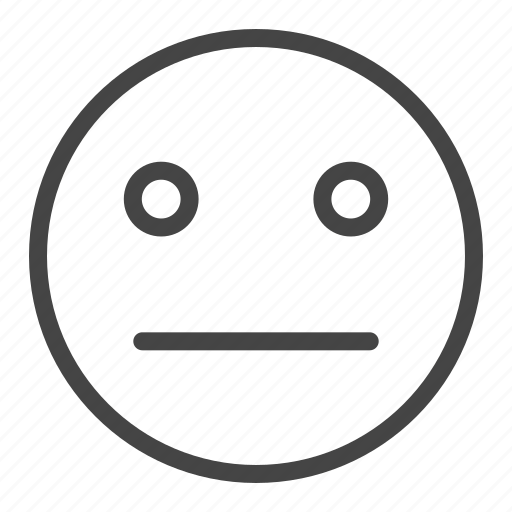 emoji, expression, face, feeling, happy, sad, smile icon