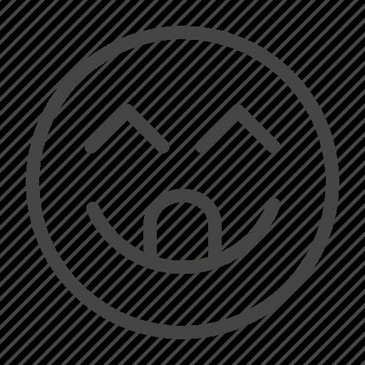 Emoji, emoticon, face, feeling, happy, smile, smiley icon - Download on Iconfinder