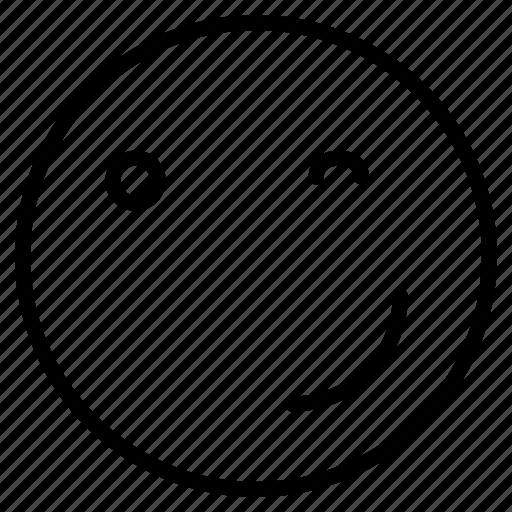 devil, emoji, jock, naughty, proud, smile, wink icon