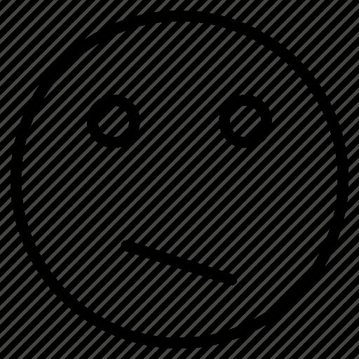 character, depressed, emoji, expression, feeling, sad, unhappy icon