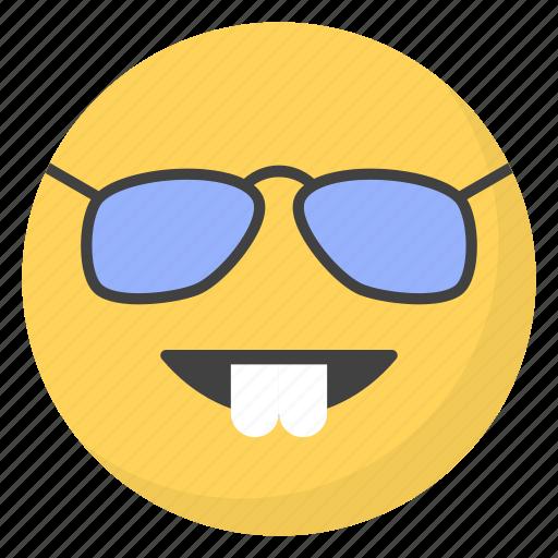 emoji, emotag, emoticon, emotion, nerd emoticon icon