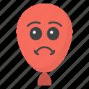 angry balloon emoji, balloon emoji, emotag, emoticon, emotion icon