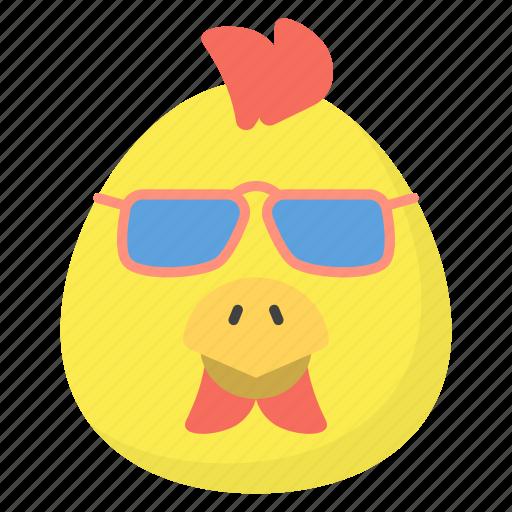 emoji, emotag, emoticon, emotion, sunglasses emoticon icon