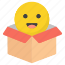 emoji, emotag, emoticon surprise, emotion, smiley emoticon icon