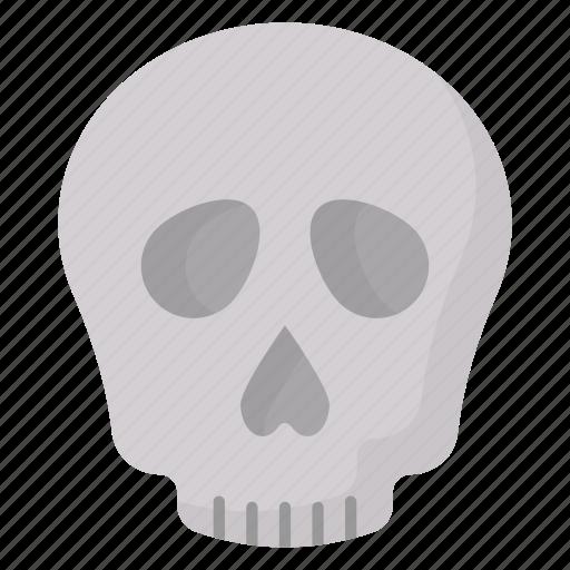 cranium, ghost, halloween, skeleton, skull icon