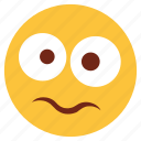 cartoon, character, emoji, emotion, face, sad, shock