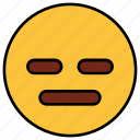 angry, cartoon, character, emoji, emotion, face, nodding