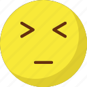 angry, emoticons, eyebrows, rage icon