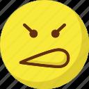 emoticons, gaze emoticon, mind, smiley icon