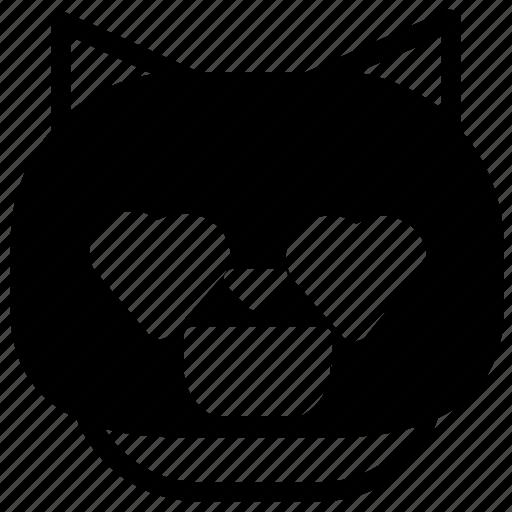 Cat, emoticon, love icon - Download on Iconfinder