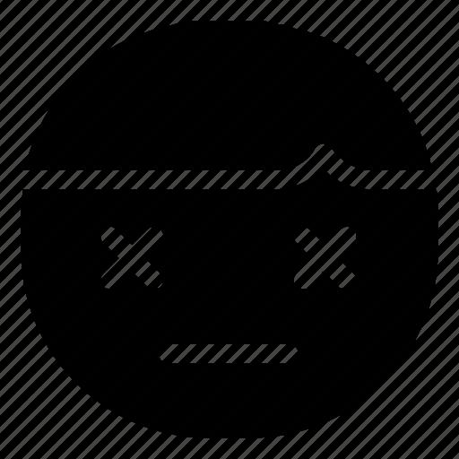 Boy, emoticon, tired icon - Download on Iconfinder