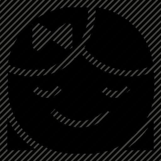 emoticon, girl, smile icon