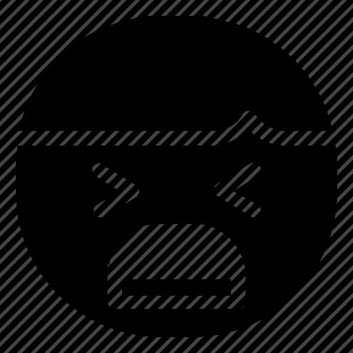 Emoticon, boy, cry icon