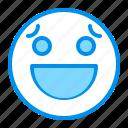 awkward, emoji, emoticon, face, smile icon