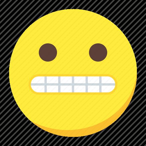 emoji, emoticon, face, fake, smile icon