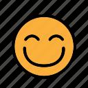 big simle, bigsmile, smiley, happy icon