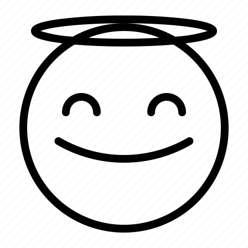 'Emoji Outline 64' by Kreasi Kanvas