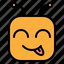 delicious, emoji, emoticon icon