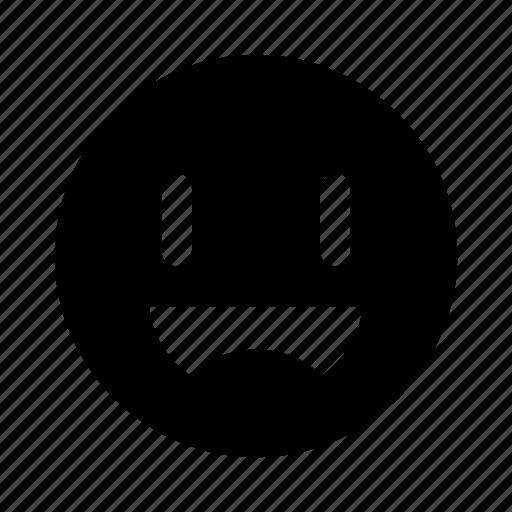 emoji, excited, extatic, happy, smile icon