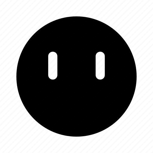 emoji, eye, eyes, plain icon