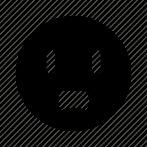 emoji, sad, shocked, surprise, surprised icon