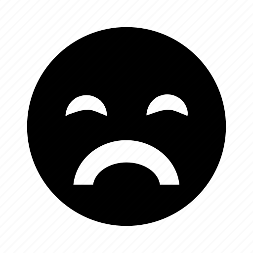 crying, emoji, sad, upset icon