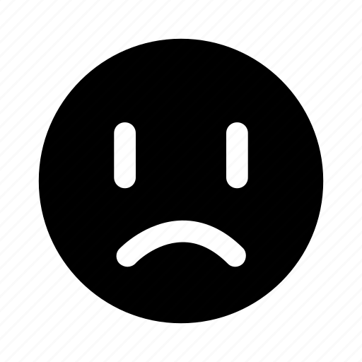 emoji, emotion, sad, upset icon