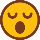 emoji, emotion, face, sad, smart, upset, wow icon