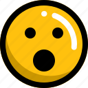 emoji, emotion, face, omg icon