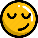 emoji, emotion, face, happy, man, smile icon