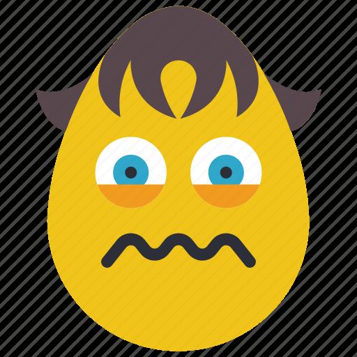 boy, emojis, ill, poorly, queezy, sick, upset icon