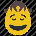 boy, emojis, happy, joy, laugh, smile, smiley icon